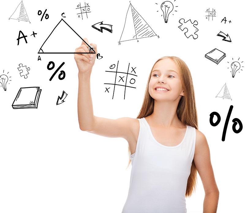 Què és matemating imatge noia